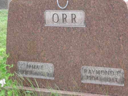 ORR, IRMA E. - Holmes County, Ohio | IRMA E. ORR - Ohio Gravestone Photos