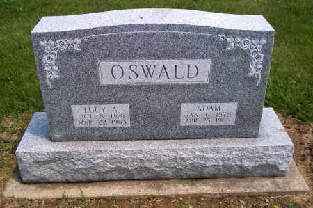 OSWALD, ADAM - Holmes County, Ohio   ADAM OSWALD - Ohio Gravestone Photos