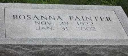 PAINTER, ROSANNA - Holmes County, Ohio | ROSANNA PAINTER - Ohio Gravestone Photos