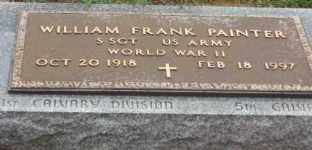 PAINTER, WILLIAM FRANK - Holmes County, Ohio   WILLIAM FRANK PAINTER - Ohio Gravestone Photos