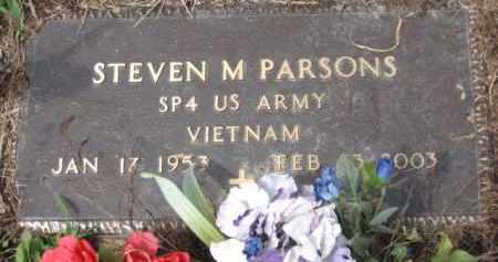 PARSONS, STEVEN M. - Holmes County, Ohio | STEVEN M. PARSONS - Ohio Gravestone Photos