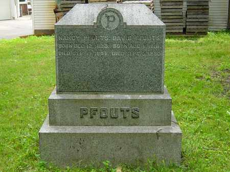 FREED PFOUTS, NANCY - Holmes County, Ohio | NANCY FREED PFOUTS - Ohio Gravestone Photos