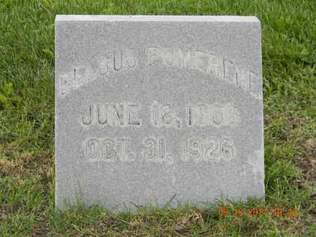 POMERENE, GLESUS - Holmes County, Ohio | GLESUS POMERENE - Ohio Gravestone Photos