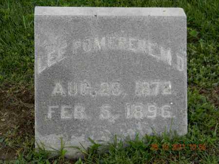 POMERENE M.D., LEE - Holmes County, Ohio   LEE POMERENE M.D. - Ohio Gravestone Photos