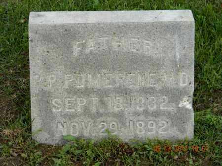 POMERENE M.D., P.P. - Holmes County, Ohio | P.P. POMERENE M.D. - Ohio Gravestone Photos
