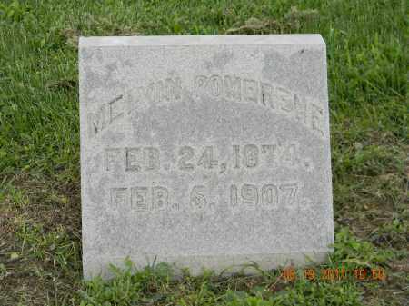 POMERENE, MELVIN - Holmes County, Ohio | MELVIN POMERENE - Ohio Gravestone Photos