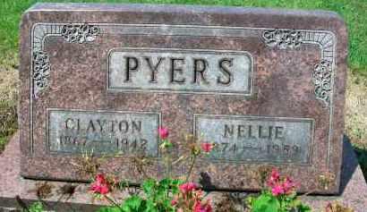 PYERS, CLAYTON - Holmes County, Ohio | CLAYTON PYERS - Ohio Gravestone Photos