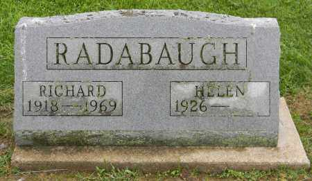 RADABAUGH, RICHARD - Holmes County, Ohio | RICHARD RADABAUGH - Ohio Gravestone Photos