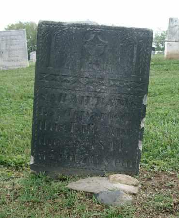 RAMSEY, SARAH - Holmes County, Ohio | SARAH RAMSEY - Ohio Gravestone Photos
