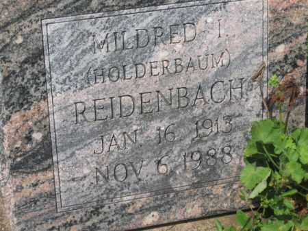 REIDENBACH, MILDRED I. - Holmes County, Ohio | MILDRED I. REIDENBACH - Ohio Gravestone Photos
