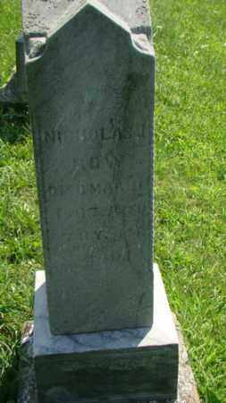 ROW, NICHOLAS - Holmes County, Ohio | NICHOLAS ROW - Ohio Gravestone Photos