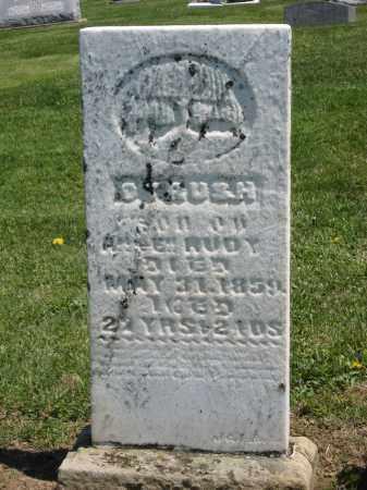RUDY, CYRUS H. - Holmes County, Ohio | CYRUS H. RUDY - Ohio Gravestone Photos