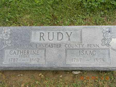 STONE RUDY, CATHERINE - Holmes County, Ohio | CATHERINE STONE RUDY - Ohio Gravestone Photos