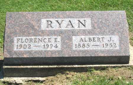 RYAN, FLORENCE E. - Holmes County, Ohio | FLORENCE E. RYAN - Ohio Gravestone Photos