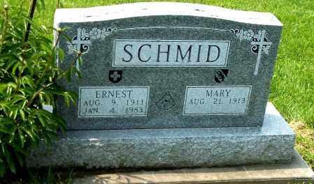 SCHMID, ERNEST - Holmes County, Ohio | ERNEST SCHMID - Ohio Gravestone Photos
