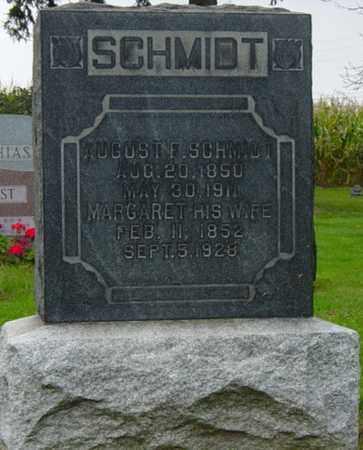 SCHMIDT, AUGUST F. - Holmes County, Ohio   AUGUST F. SCHMIDT - Ohio Gravestone Photos