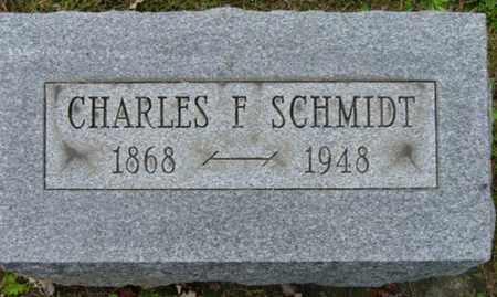 SCHMIDT, CHARLES F. - Holmes County, Ohio   CHARLES F. SCHMIDT - Ohio Gravestone Photos