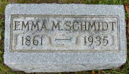 SCHMIDT, EMMA MARGARET - Holmes County, Ohio | EMMA MARGARET SCHMIDT - Ohio Gravestone Photos