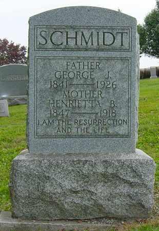 BLASER SCHMIDT, HENRIETTA - Holmes County, Ohio | HENRIETTA BLASER SCHMIDT - Ohio Gravestone Photos