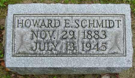 SCHMIDT, HOWARD E. - Holmes County, Ohio | HOWARD E. SCHMIDT - Ohio Gravestone Photos