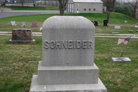 SCHNEIDER, SOPHIA CAROLINE - Holmes County, Ohio   SOPHIA CAROLINE SCHNEIDER - Ohio Gravestone Photos
