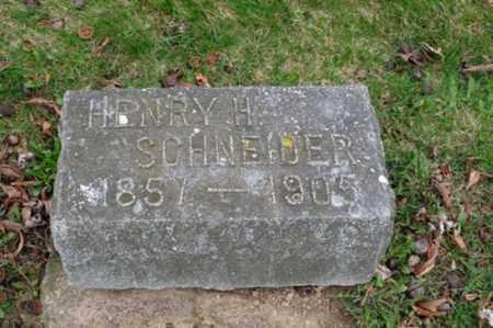 SCHNEIDER, HENRY H. - Holmes County, Ohio | HENRY H. SCHNEIDER - Ohio Gravestone Photos