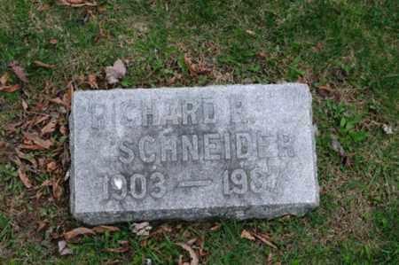 SCHNEIDER, RICHARD ROBERT - Holmes County, Ohio | RICHARD ROBERT SCHNEIDER - Ohio Gravestone Photos