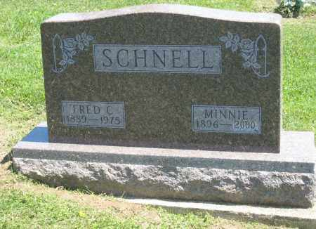 SCHNELL, FRED C. - Holmes County, Ohio | FRED C. SCHNELL - Ohio Gravestone Photos