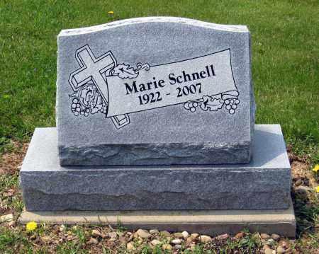 SCHNELL, MARIE - Holmes County, Ohio | MARIE SCHNELL - Ohio Gravestone Photos