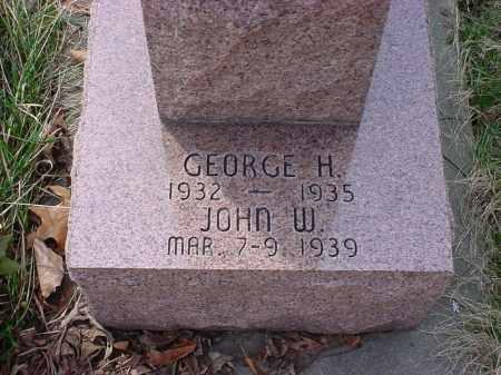 SCHONAUER, JOHN W - Holmes County, Ohio | JOHN W SCHONAUER - Ohio Gravestone Photos