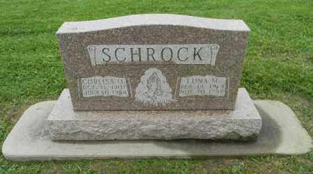 SCHROCK, CORLISS O. - Holmes County, Ohio   CORLISS O. SCHROCK - Ohio Gravestone Photos