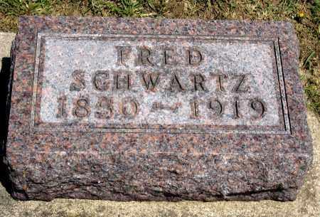 SCHWARTZ, FRED - Holmes County, Ohio | FRED SCHWARTZ - Ohio Gravestone Photos