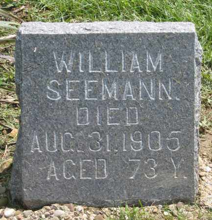 SEEMANN, WILLIAM - Holmes County, Ohio   WILLIAM SEEMANN - Ohio Gravestone Photos