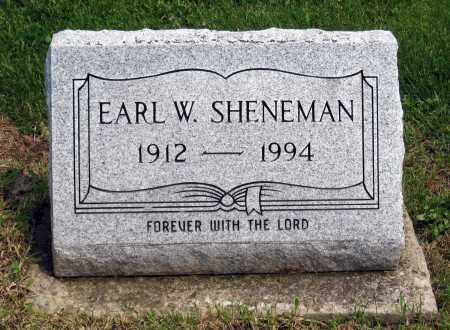 SHENEMAN, EARL W. - Holmes County, Ohio | EARL W. SHENEMAN - Ohio Gravestone Photos