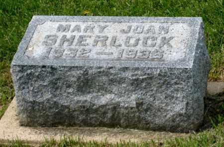 SHERLOCK, MARY JOAN - Holmes County, Ohio | MARY JOAN SHERLOCK - Ohio Gravestone Photos