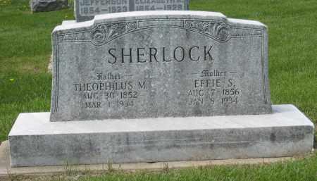 SHERLOCK, EFFIE S - Holmes County, Ohio | EFFIE S SHERLOCK - Ohio Gravestone Photos