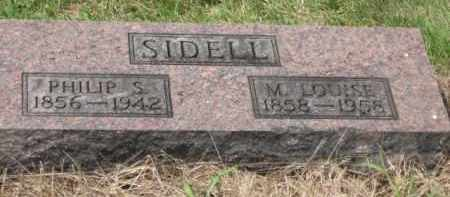 SIDELL, LOUISE - Holmes County, Ohio | LOUISE SIDELL - Ohio Gravestone Photos