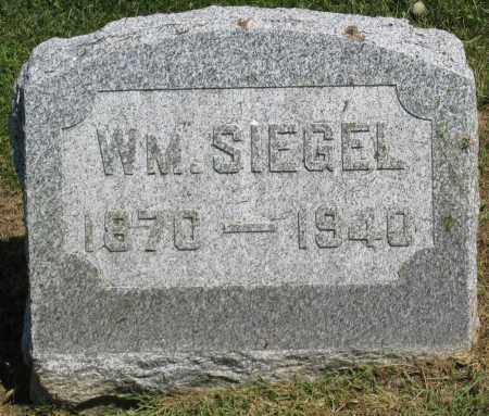 SIEGEL, WM - Holmes County, Ohio   WM SIEGEL - Ohio Gravestone Photos