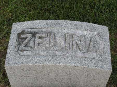 SIEGEL, ZELINA - Holmes County, Ohio | ZELINA SIEGEL - Ohio Gravestone Photos