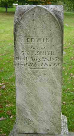 SMITH, EDWIN - Holmes County, Ohio | EDWIN SMITH - Ohio Gravestone Photos