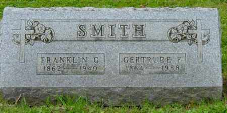 FINK SMITH, GERTRUDE - Holmes County, Ohio | GERTRUDE FINK SMITH - Ohio Gravestone Photos