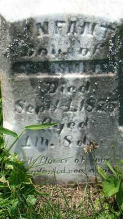 SMITH, INFANT - Holmes County, Ohio | INFANT SMITH - Ohio Gravestone Photos