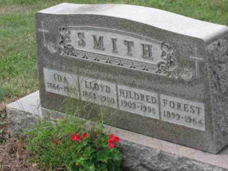 SMITH, FOREST - Holmes County, Ohio | FOREST SMITH - Ohio Gravestone Photos