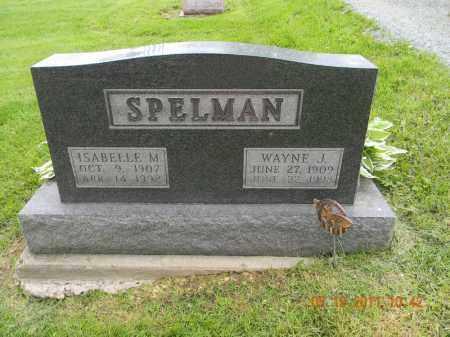 SPELMAN, ISABELLE M. - Holmes County, Ohio | ISABELLE M. SPELMAN - Ohio Gravestone Photos