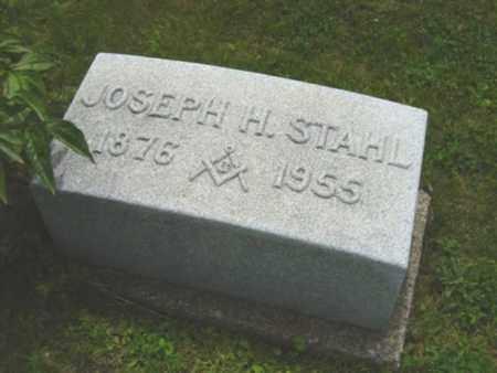 STAHL, JOSEPH H. - Holmes County, Ohio   JOSEPH H. STAHL - Ohio Gravestone Photos