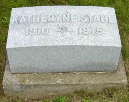 STAHL, KATHERYNE - Holmes County, Ohio | KATHERYNE STAHL - Ohio Gravestone Photos
