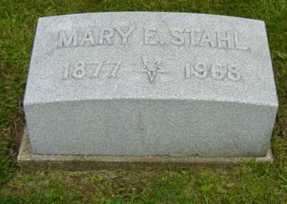 EMIG STAHL, MARY E. - Holmes County, Ohio | MARY E. EMIG STAHL - Ohio Gravestone Photos
