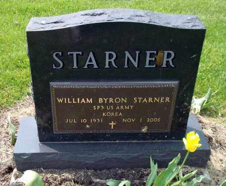 STARNER, WILLIAM BYRON - Holmes County, Ohio | WILLIAM BYRON STARNER - Ohio Gravestone Photos