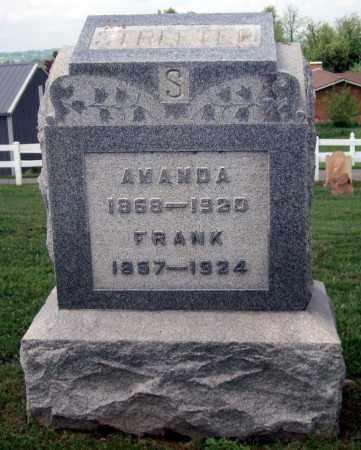 STREETER, AMANDA - Holmes County, Ohio | AMANDA STREETER - Ohio Gravestone Photos