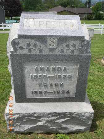STREETER, AMANDA - Holmes County, Ohio   AMANDA STREETER - Ohio Gravestone Photos